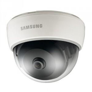 Samsung SND-1080 - Cámara de vigilancia en domo (VGA, detección de movimiento, 1080p), blanco